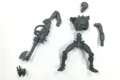 Necrons in Parts