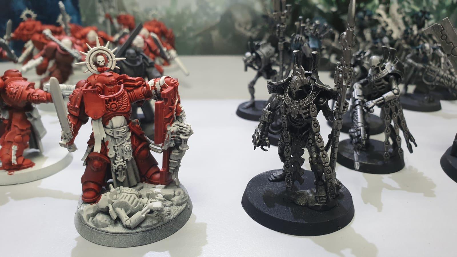 Blood Angels VS Nihilakh Dynasty Necrons