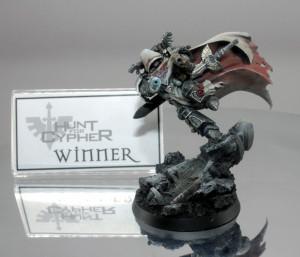 Winner - Zheng Han John's magnificent Cypher sculpt impressed our judges.