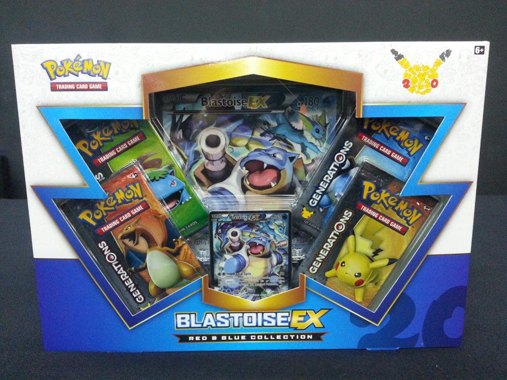 Blastoise EX Box