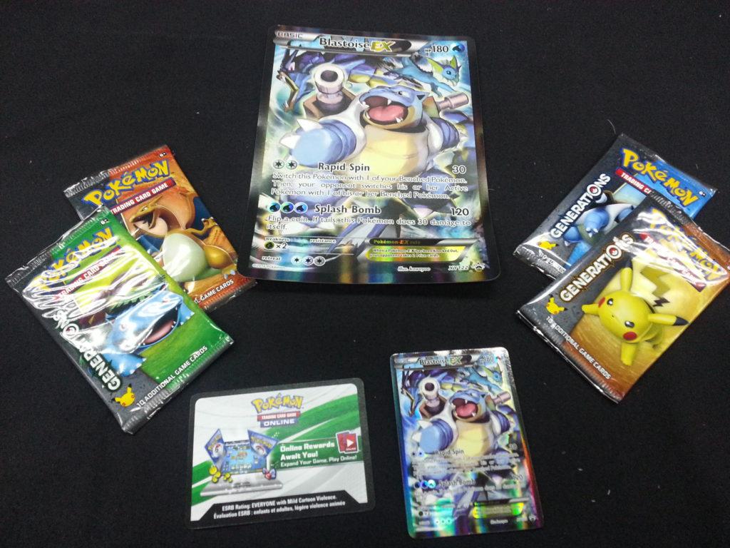 Blastoise EX contents