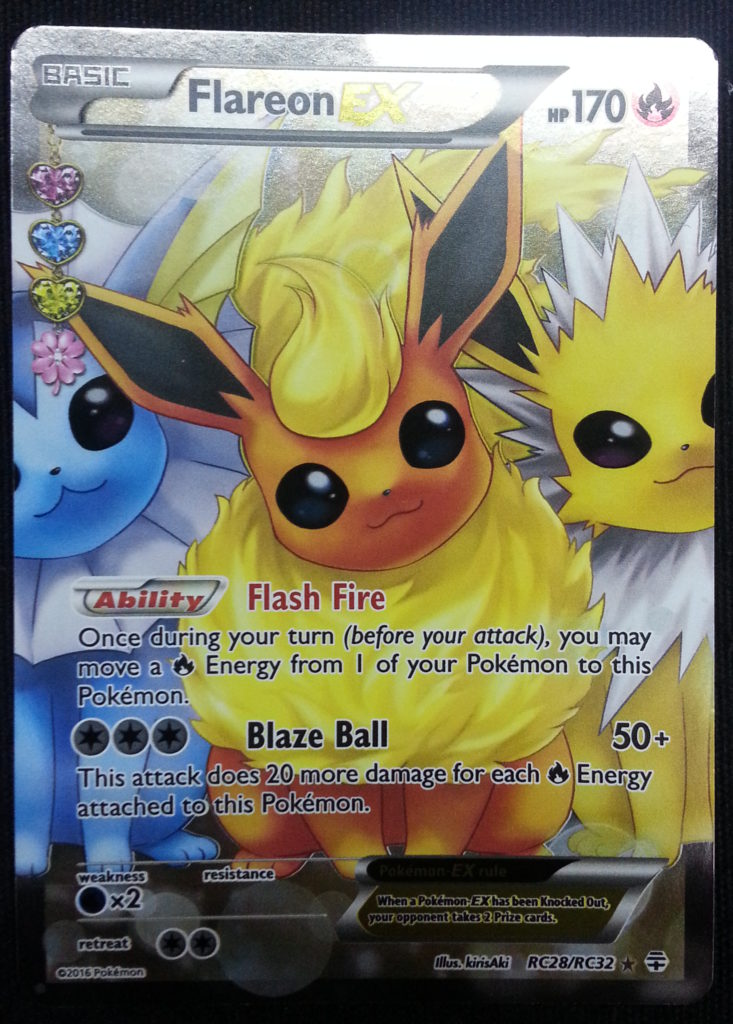 Full Art Flareon EX (Radiant Collection)