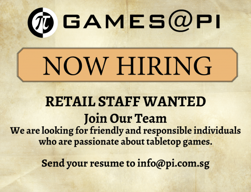 JOIN THE TEAM – RETAIL POSITIONS AVAILABLE
