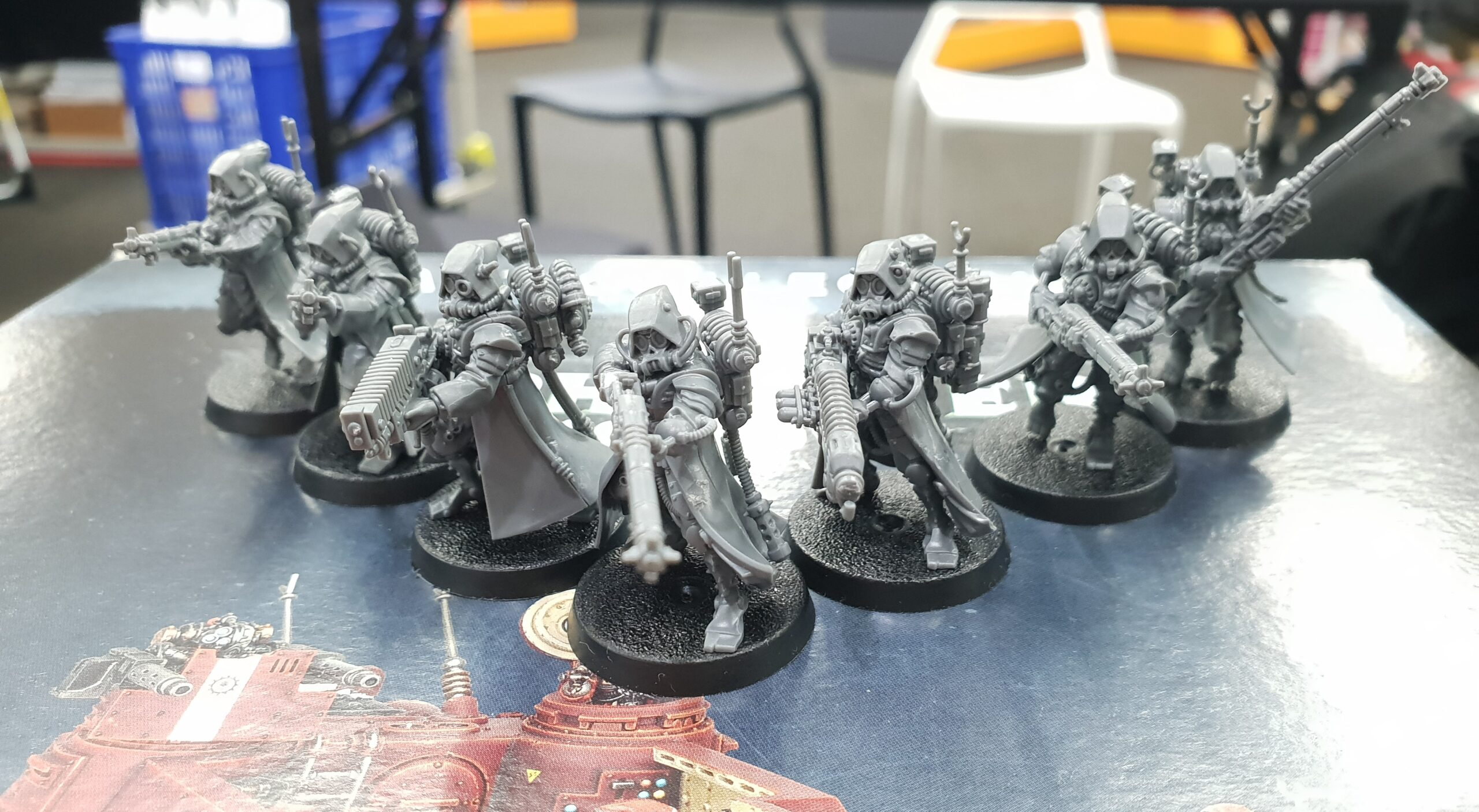 Warhammer 40k – Kora's Awesome AdMech – Work in Progress – July 27, 2020