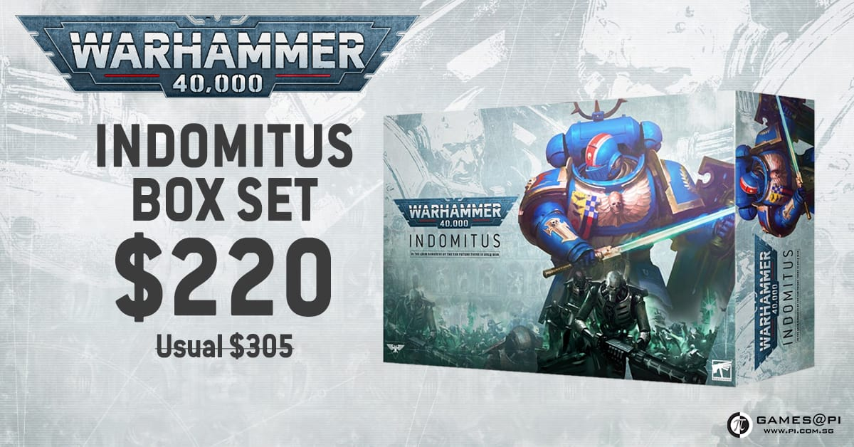 Warhammer 40k Indomitus Pre-Orders Now Open!