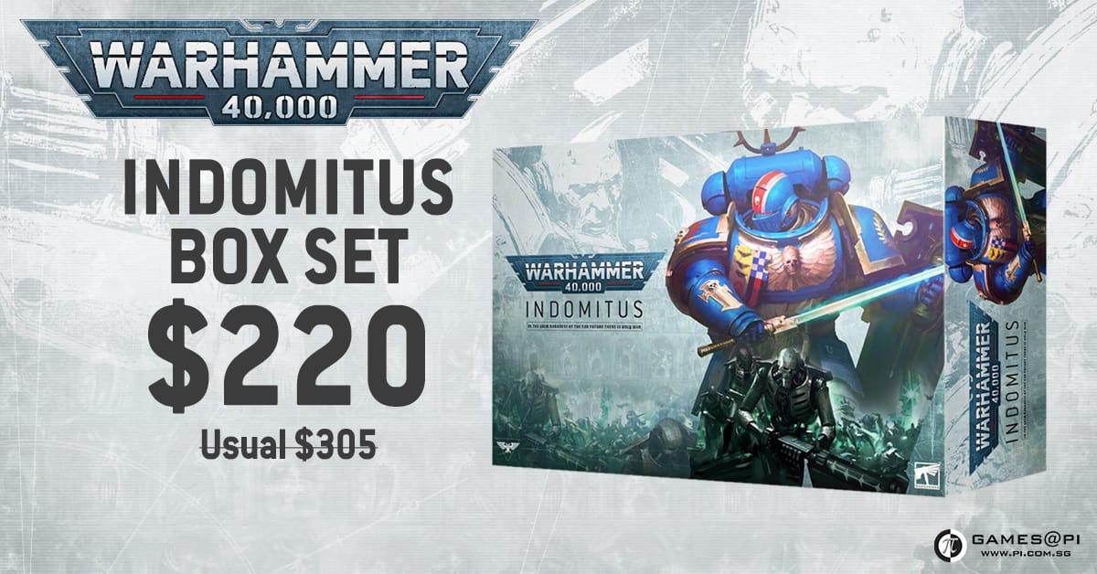 Warhammer 40k Indomitus Pre-Orders Now Open!
