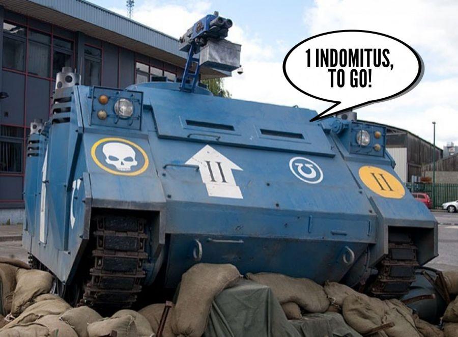 Indomitus Curbside Pick-up & Indomitus Drive-Thru!