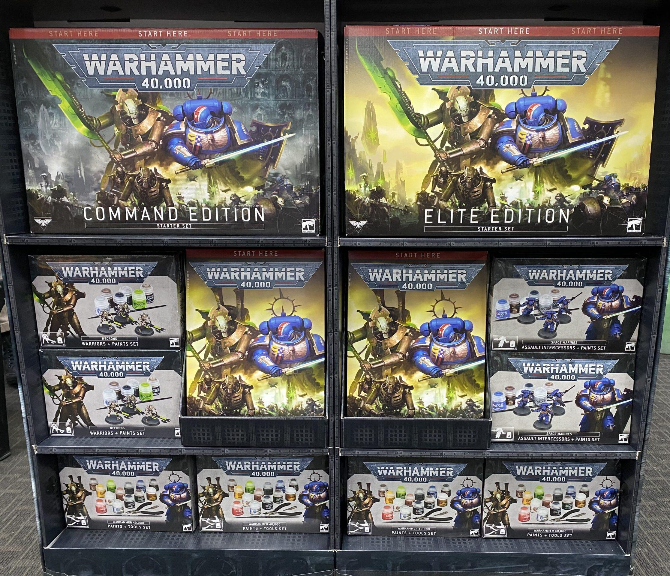 warhammer 40k starter sets PI