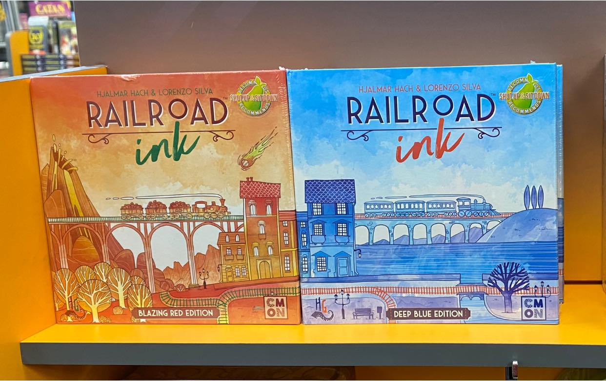 New Releases: Railroad Ink & Rising Sun – August 11, 2020