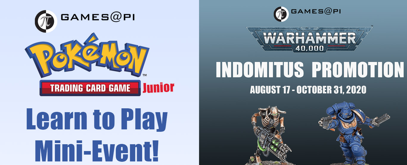 Event Overview: Pokemon TCG Junior Learn to Play Days & Warhammer 40k Demos