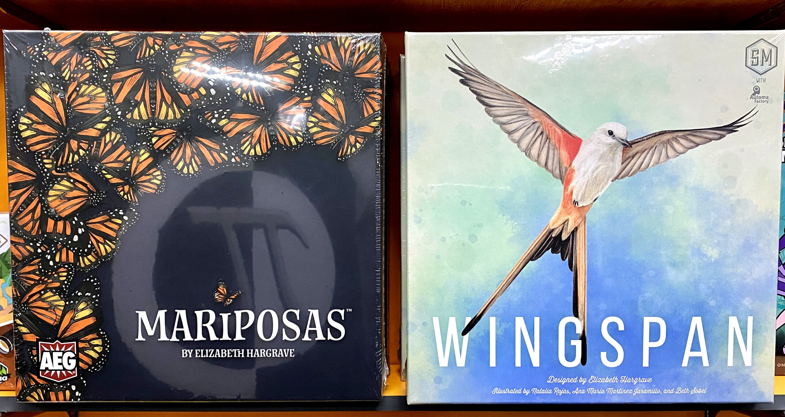 New Releases Spotlight: Wingspan and Mariposas