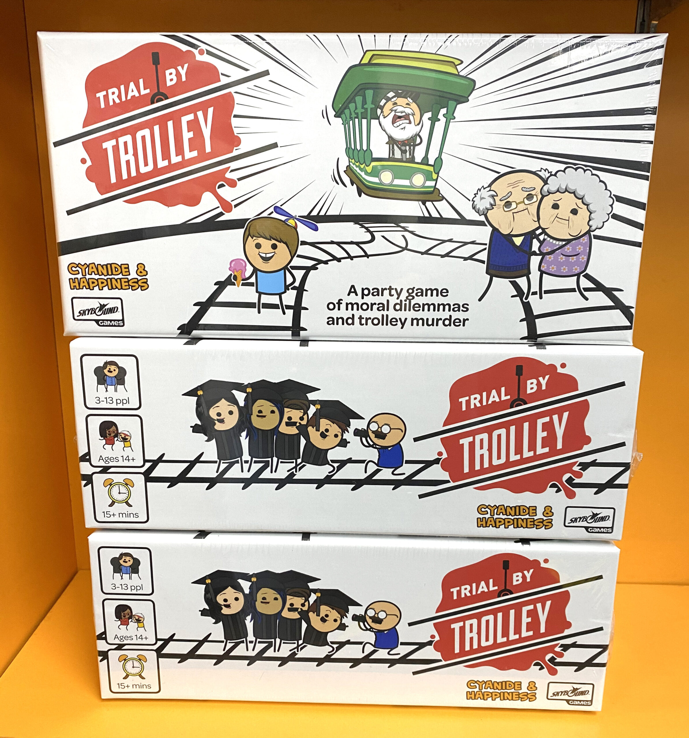 New Release Spotlight: Trial by Trolley!