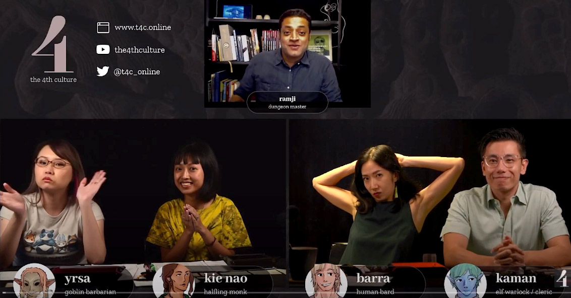 Support Local: An Interview with the Cast & Crew of The 4th Culture, Singapore's first liveplay D&D show!