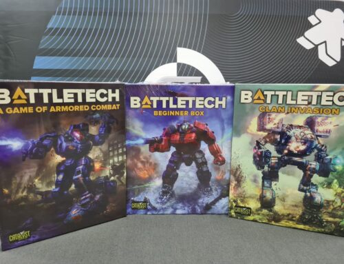 'Mech March – Learn-to-Play BattleTech