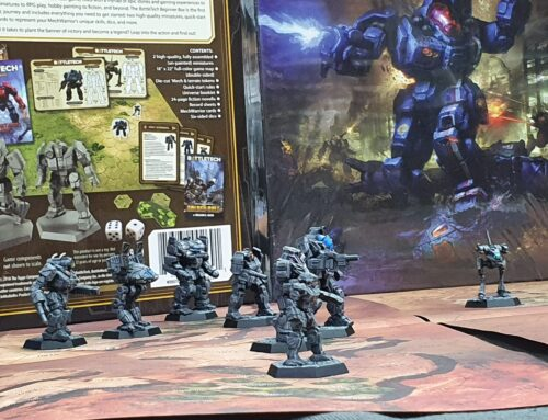 'Mech March – BattleTech Demos and a Promo
