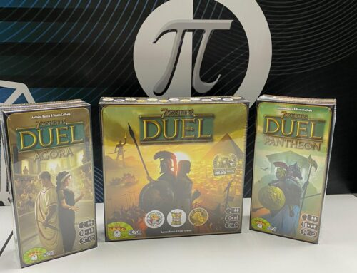 7 Wonders Duel, 7 Wonders Duel Pantheon and 7 Wonders Duel Agora